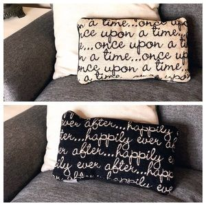 Disney Parks Double Sided Decorative Pillow